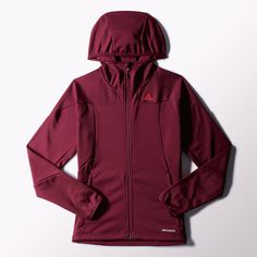 adidas Hiking 1-Side Fleece Hooded Jacket | adidas US