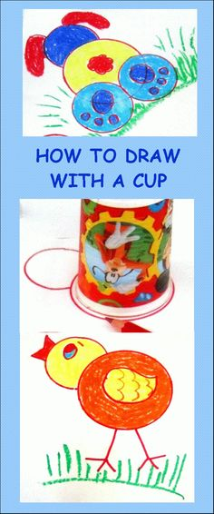Create Every Day: How to draw with a cup