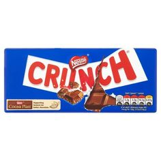 Chocolate Bar With White Crunches