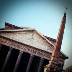 pantheon with obelisk .⛅