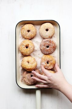 Homemade Buttermilk Donuts // The Sugar Hit