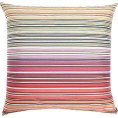 MISSONI HOME Osage stripe cushion 60cm