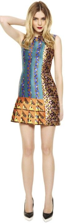 MIK Dress by Peter Pilotto   ♥✤ | Keep the Glamour | BeStayBeautiful