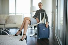 Slide this stylish under seat rolling tote under your plane seat and keep your travel essentials close at hand.