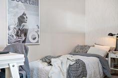 Amenajare în plan deschis într-o garsonieră de 38 m² | Jurnal de design interior