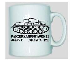 Tasse Panzerkampfwagen II SD.KFZ 121 / mehr Infos auf: www.Guntia-Militaria-Shop.de