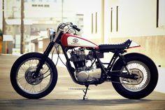 ♠Milchapitas-Kustom Bikes♠: Yamaha SR400 By Motor Garage Goods