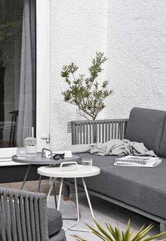 Creating an alfresco lounge with Cane-line outdoor furniture | These Four Walls blog #gardening #gardenstyle Decor Styles, Lounge, Lounge Areas, Outdoor Living Space, Indoor, Sofas And Chairs, Seater Sofa, Interior, Furniture