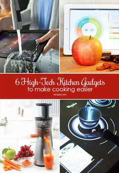 6 High-Tech Kitchen Gadgets to Make Cooking Easier