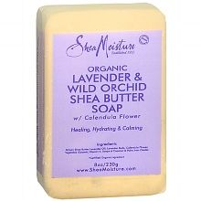 shea moisture lavender and wild orchid soap