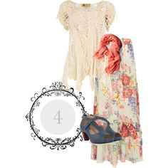 """Floral Variation #4"" by kathleen-mower on Polyvore"