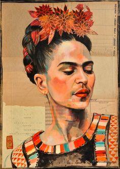 Frida en colores