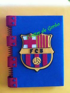 Cuadernos forrados de goma eva - Imagui