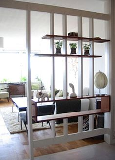 Top Incredible Room Divider Design Ideas You Have To Know Living Room Partition, Room Partition Designs, Partition Ideas, Creating An Entryway, Decorative Room Dividers, Diy Room Divider, Room Divider Shelves, Hanging Room Dividers, Divider Design