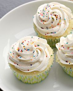 Perfect Vanilla Cupcakes | Vanilla Cupcakes, Vanilla and Cupcake