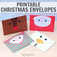 Letter to Santa deserves a special twist this year, and with these festive printable Christmas envelopes we're going to do just that! You can print any or all of these festive characters and send your letters in style. *this post contains affiliate links* Printable Christmas Envelopes While I was creating a wonderful set of silly …