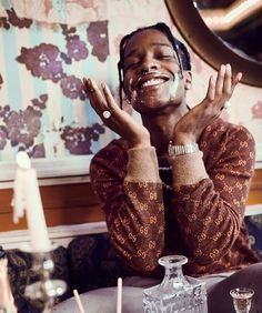 Hip Hop Jewelry, Custom Bubble Letters, Iced Out Jewelry, Gold Grillz Beautiful Boys, Pretty Boys, Cute Boys, Aesthetic Pictures, Aesthetic Photo, Lord Pretty Flacko, Hip Hop, Rap Wallpaper, A$ap Rocky