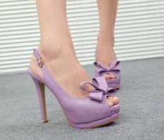peep toe sling back high heel