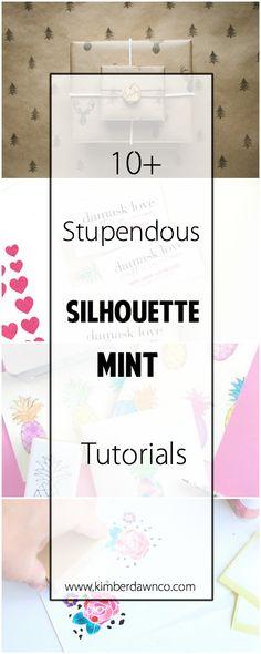 10+ Silhouette Mint Tutorials | kimberdawnco.com | Bloglovin'