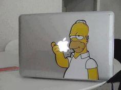 #mac #apple #homer #simpsons #humor