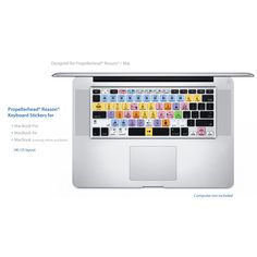 Propellerhead Reason Keyboard Shortcuts Stickers Labels - For MAC