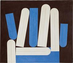"""Concepción artística del colombiano Omar Rayo: """"Signos para un alfabeto No. 5"""" (1961)."""