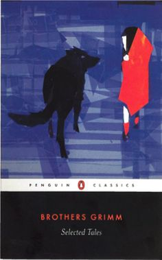 Penguin Book - Brothers Grimm. Designed by Paul Buckley and illustrated by Chapero Rouge. #BookCover
