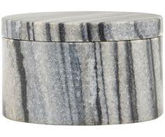 Aufbewahrungsdose Marmor