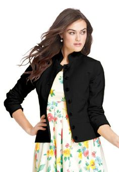 Jessica London Plus Size Linen-Blend Blazer for only $49.99 You save: $25.00 (33%)