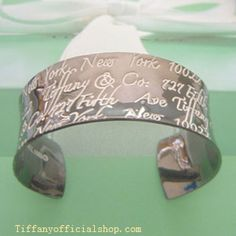 Tiffany Outlet Notes Cuff In Midnight Wide