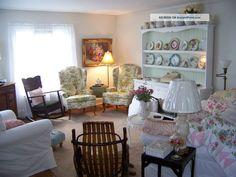 Shabby Chic Cottage | ... ~ Roses ~ Sweet Shabby Chic Style ~ Cottage ~ Omg Post-1950 photo 2