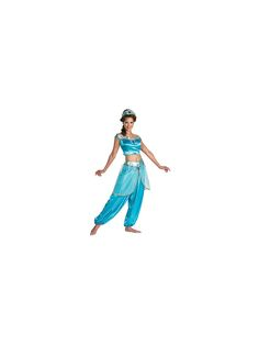 $48 Disney Jasmine Costume | Adult Womens Aladdin Halloween Costumes