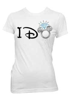 Disney Inspired Bride I Do Iron On Transfer by PopCreativeDesigns Disney Dream, Disney Style, Disney Love, Disney Inspired Wedding, Wedding Disney, Disney Weddings, Disney Honeymoon, Honeymoon Trip, Disney Bachelorette Parties