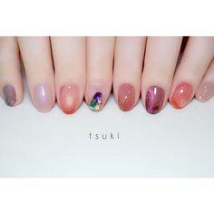 Nail Jewels, Almond Acrylic Nails, Nail Tech, Nails Inspiration, Cute Nails, You Nailed It, Nailart, Makeup Looks, Nail Designs