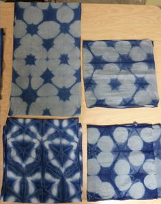 Three days - three shibori scarves.    Click on any of the images to enlarge.     Minnesota is known for many things: rivers and lakes, bl...