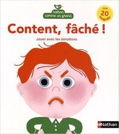 «Content, fâché !» est un livre très astucieux qui va grandement aider les enfants à développer leur aptitude à gérer leurs émotions. Le concept est simple : les premières pages sont consacrées à la description des émotions associées à des situations telles que : quand on me prend mes jouets, ça m'énerve ! (colère) quand …