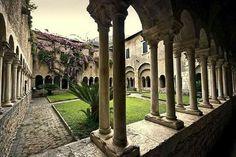 Lazio. Valvisciolo abbey