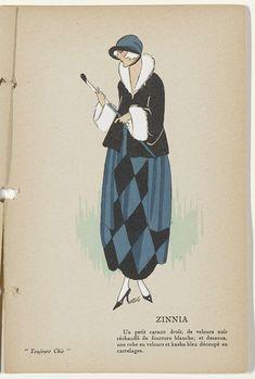 Toujours Chic Les Tailleurs et Les Manteaux, Hiver 1921-1922: Zinnia, G-P…