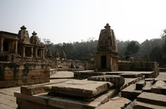 Ancient temples at #Bateshwar, #MadhyaPradesh    (Pin, Share & Like with The Tour Planners)    This temple complex is more than 1300 years old. It contains over 200 temples dating from the post-Gupta and early Pratihara period.