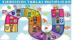 Repasamos las tablas de multiplicar con estas actividades con soluciones