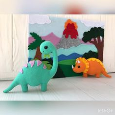 Baby mobile nursery crib mobile dinosaur mobile with | Etsy#baby #crib #dinosaur #etsy #mobile #nursery Nursery Crib, Nautical Nursery, Woodland Nursery, Nursery Decor, Baby Crib, Roman Clock, Baby Boy Room Decor, Metal Clock, Felt Baby