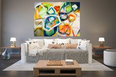 Large Abstract Painting,Large Abstract Painting on Canvas,texture painting,modern abstract,decor art,texture wall art FY0088