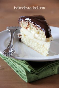 Boston Cream Pie Cheesecake Cake Recipe