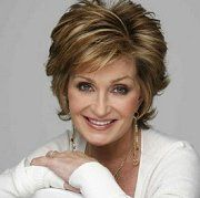 Love Sharon's style & color here This haircut. Sharon Osborn----not the red hair.
