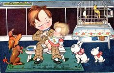 Margret Boriss postcard   eBay