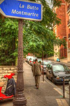 Montmartre Quarter, La Butte Montmartre, Paris XVIII