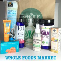Whole Foods Market Beauty Products