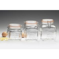Gourmet Hermetic Preserving Jars