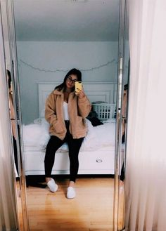 inspiring teenager outfits for this winter 19 Teenage Outfits, Trendy Outfits, Cute Outfits, Fashion Outfits, Lazy Outfits, Matching Outfits, Fashion Shoes, Jeans Outfit Summer, Spring Outfits