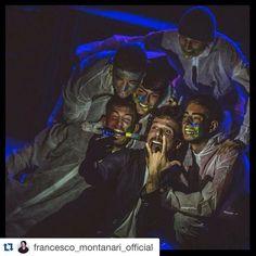 #AndreaDelogu Andrea Delogu: #Repost @francesco_montanari_official with @repostapp. ・・・ Finita la prima settimana! Grazie del calore e del grande entusiasmo... Siete tantissimi, quasi sold out anche la prossima settimana... Grazie grazie! Si ricomincia Martedì :) #cattiviragazzi #rome #theatre #actors #teatrodellacometa
